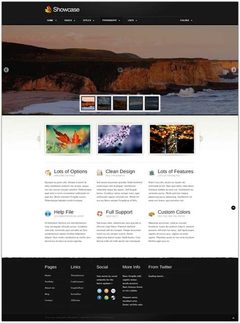 38 best html5 corporate portfolio website templates web