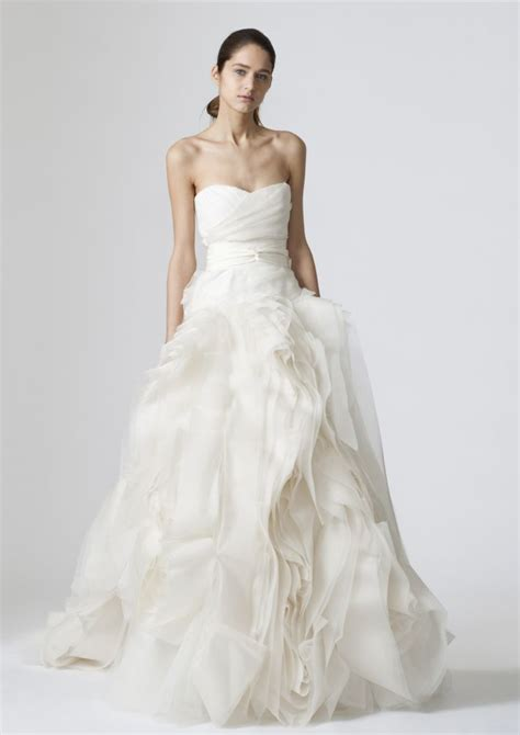 Brautkleider Vera Wang by 2013 Weddings The S Gown Onewed