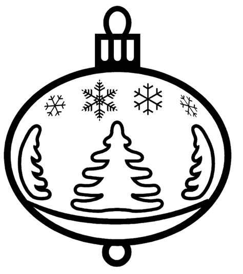 christmas ornaments coloring pages christmas ornament