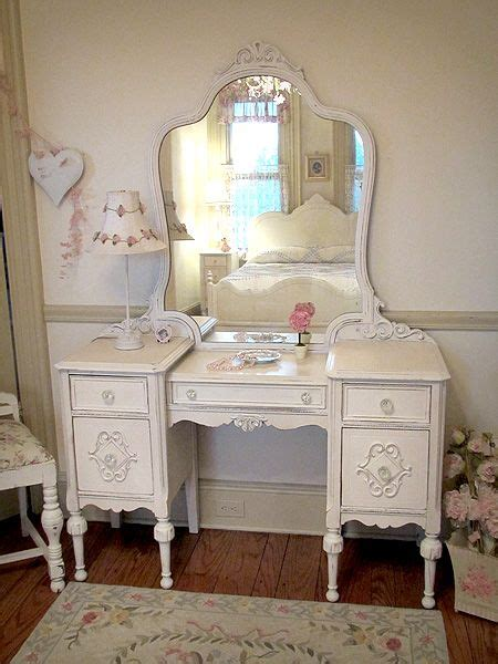Antique White Bedroom Vanity by One Of A Antique White Vanity A Page Of