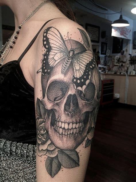 51 Skull Tattoos For Men And Women Inspirationseek Com Skull Tattoos For
