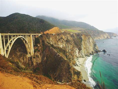highway  bixby creek bridge monterey county california