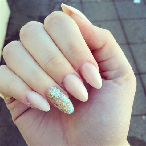 acrylic nails almond how you can do it at home pictures