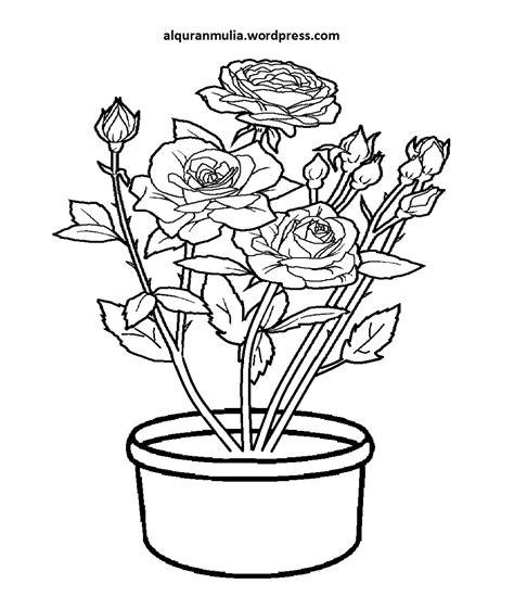anti stres bunga buku mewarnai coloring book for adults mewarnai gambar bunga anak muslim 12 alqur anmulia