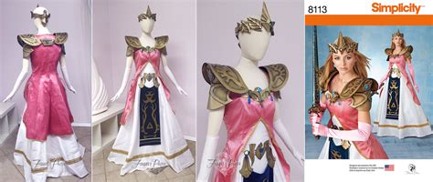 zelda pattern dress simplicity pattern 8113 by firefly path on deviantart