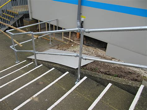 Key Clamp Handrails Kee Systems Kee Klamp Kee Lite Tube Railing Fall