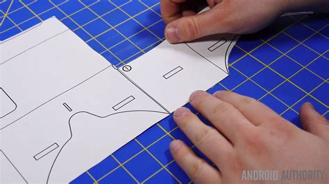 cardboard template how to make your own cardboard headset