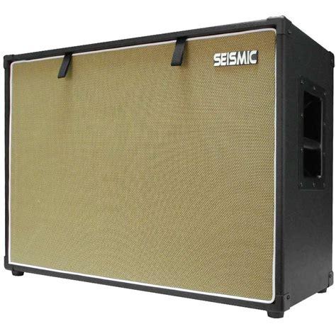 2x12 guitar cabinet empty seismic audio 212 guitar speaker cabinet empty 12 quot cab