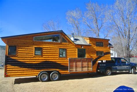 A River Runs Through It Custom Gooseneck Tiny House Gooseneck Tiny House