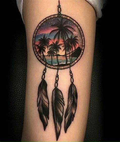 dream catcher tattoo tights 357 best tattoos beach tropical tiki images on