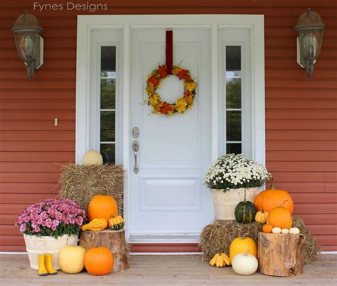 fall decorating ideas for your porch fall porch decorating ideas fynes designs fynes designs