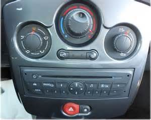Renault Clio Stereo Renault Clio 3 Autoradio Einbauset 1 Din