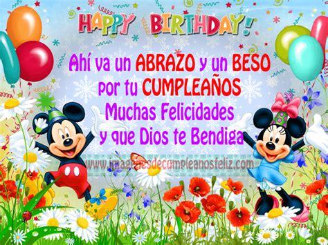 imagenes feliz cumpleaños mickey mouse feliz cumpleanos mickey mouse pictures to pin on pinterest