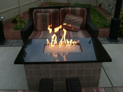 how to build a glass pit how to build a gas or propane outdoor pit using fireglass toppers or glass
