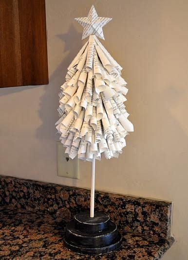 rbol de navidad reciclado manualidades 193 rboles de navidad reciclados 1001 consejos
