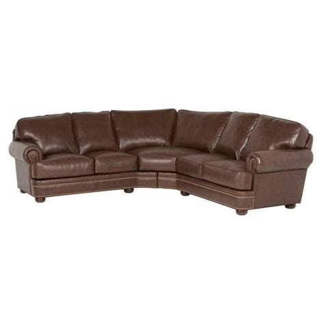 classic leather mcguire sectional 559 classic leather