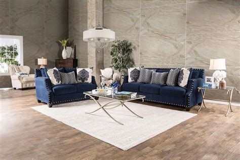 Navy Sofa Living Room Sofa Outstanding Navy Blue Sofa Set 2017 Collection Blue Sectional Loveseat In Navy Blue Navy