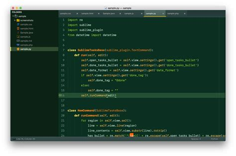 sublime text 3 themes directory theme bamboo packages package control