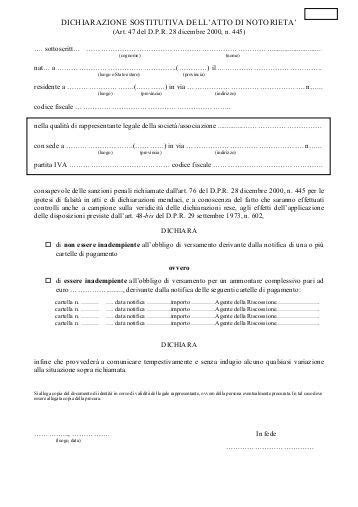 dichiarazione sostitutiva di atto notorio eredi mod b dichiarazione sostitutiva di atto di notorieta 1