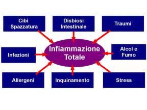 alimentazione e infiammazione l infiammazione totale 232 data dalla somma delle