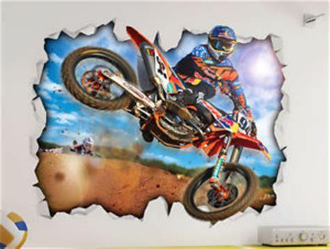 Poster Trail Bike Stunt S05 motorcross dirt bike ktm wall vinyl poster sticker bed play room mural ebay