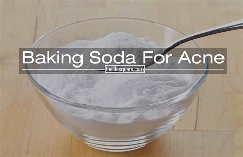 Does Baking Soda Detox Your System by Baking Soda For Acne A How To Guide Of