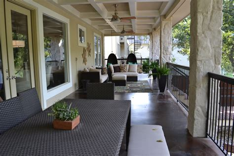Large Porches large back porch looking lake