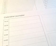 Calendrier Journalier 17 Best Ideas About Calendrier Journalier On
