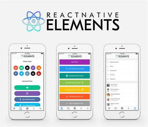 design pattern react native introducing react native elements react native training