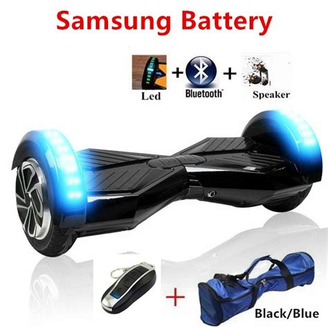 8 Inch Smart Balance Wheel With Bluetooth Battery Samsung 8 inch hoverboard samsung battery electric scooter 2 wheel standing scooter hoverboard