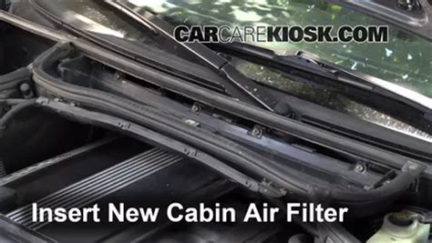 How To Check Cabin Air Filter by 1999 2006 Bmw 325i Cabin Air Filter Check 2001 Bmw 325i