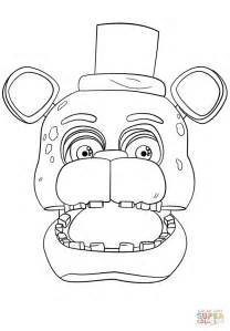 Fnaf 7 Coloring Pages by F Naf Time Freddy Coloring Page Pictures To Pin On