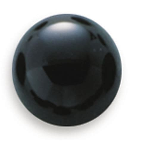 black onyx 3mm cabochon