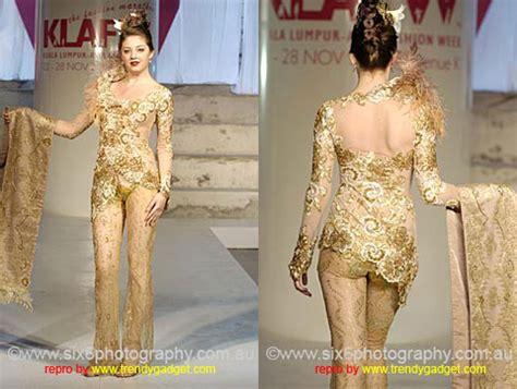Baju Tidur Wanita Motif Celana Panjang Kerah Sabrina gambar kebaya pengantin modern tren 2010