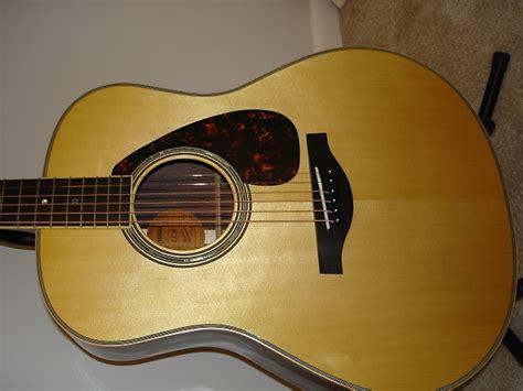 Gitar Akustik Elektrik Yamaha Wood yamaha ll16 acoustic electric all solid wood reverb