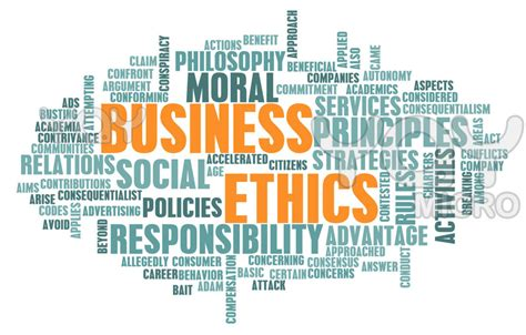 does your workplace an ethical code of conduct