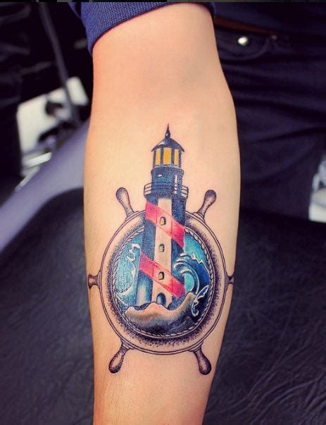 small lighthouse tattoo lighthouse tattoos designs ideas and meaning tattoos