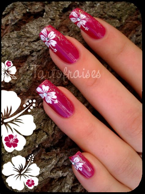 tartofraises nail art    nail art blog