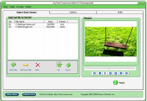 flash card maker windows 8 any flash screensaver maker download by risnow software at