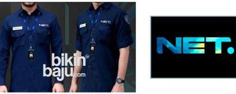 Kemeja Net Tv mau pesan seragam net tv belum punya desainnya call us now