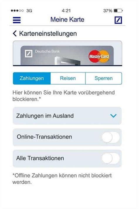 meine deutsche bank app deutsche bank startet security app quot meine karte quot 183 it