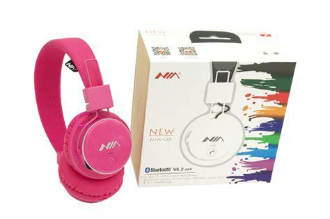 Headphone Bluetooth Wireless Calls Nia Q8 851s bluetooth stereo headset q8 niaelect