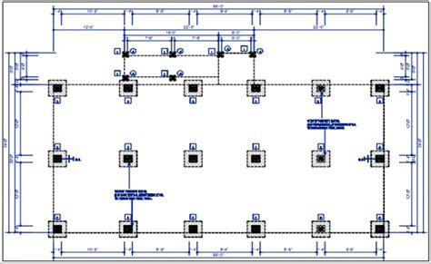 foundation layout video structure column plan with foundation plan layout view in