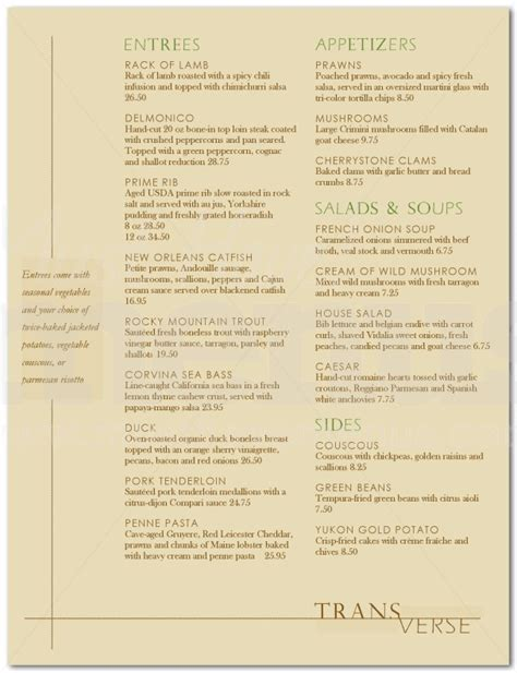 Design And Dine Menu | pin fine dining menu design food on pinterest
