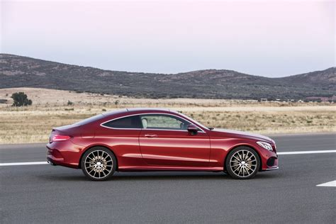 classic mercedes coupe 2016 mercedes benz c class coupe officially unveiled