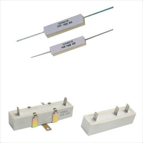 house wire wound resistor enapros exporter manufacturer supplier new delhi india