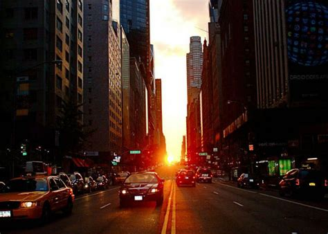 manhattanhenge il tramonto pi 249 bello di new york