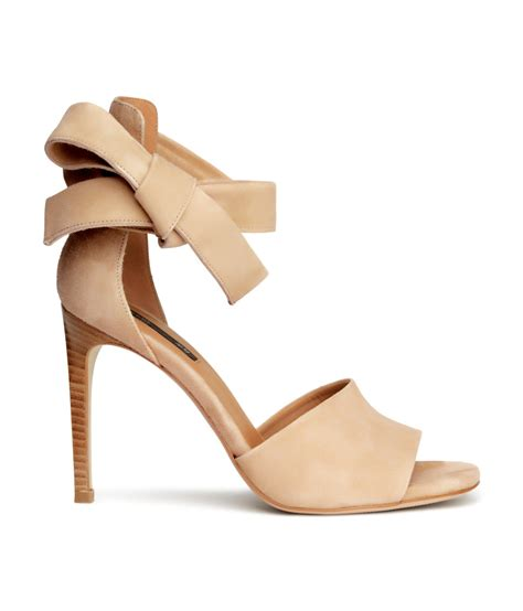m and s shoes h m suede sandals in lyst