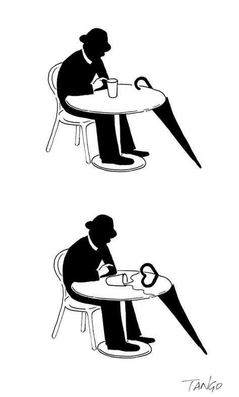 Cutedrop » Ilustrações geniais usando só linha e preto e