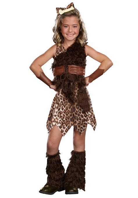 how to make a caveman costume for kids ehow uk child cave girl cutie costume
